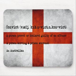 Australian convict definition mouse mat