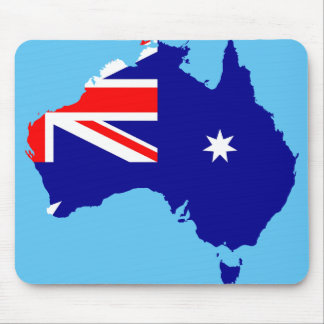 Australian country mouse mat