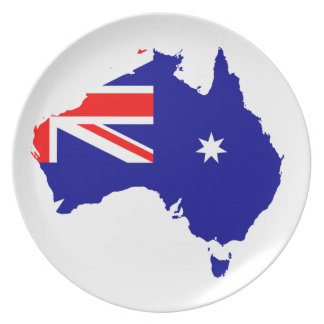 Australian country plate