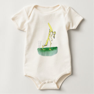 australian cricket old father time, tony fernandes baby bodysuit