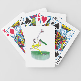 australian cricketer spin bowling, tony fernandes bicycle playing cards