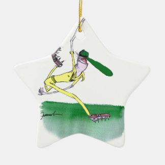 australian cricketer spin bowling, tony fernandes ceramic star decoration