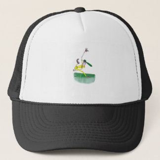 australian cricketer spin bowling, tony fernandes trucker hat