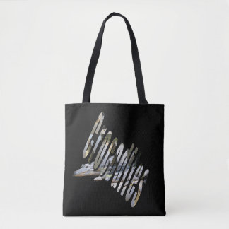 Australian Crocodile And Crocodile Logo, Tote Bag