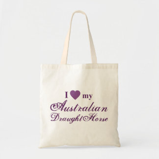Australian Draught Horse Budget Tote Bag