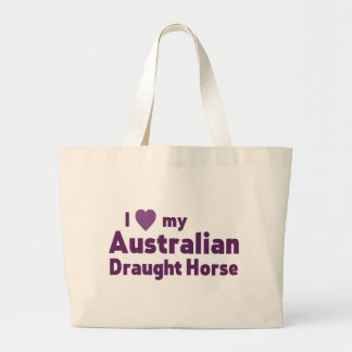 Australian Draught Horse Canvas Bags