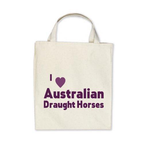 Australian Draught Horses Bag