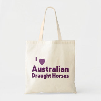 Australian Draught Horses Budget Tote Bag