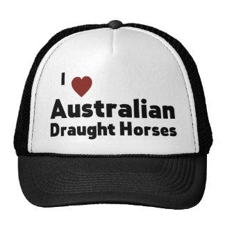 Australian Draught Horses Cap
