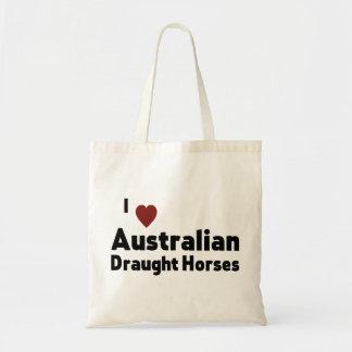 Australian Draught Horses Tote Bag