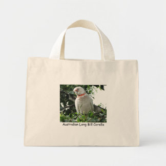 Australian Eastern Long Bill Corella Mini Tote Bag