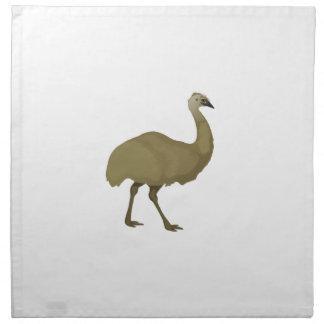 Australian Emu Bird Napkin