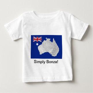 Australian Flag and Silhouette Infant's T-Shirt