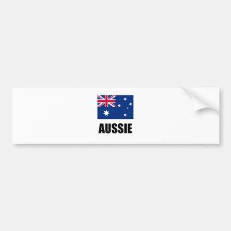 """Australian Flag / """"Aussie"""" Bumper Stickers"""