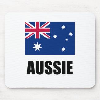 "Australian Flag / ""Aussie"" Mouse Mat"
