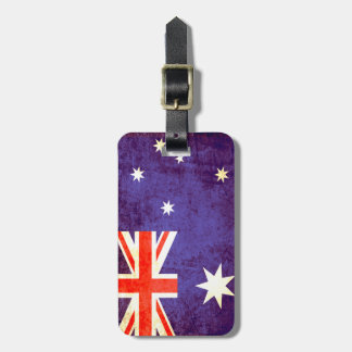 Australian flag Australia luggage tag