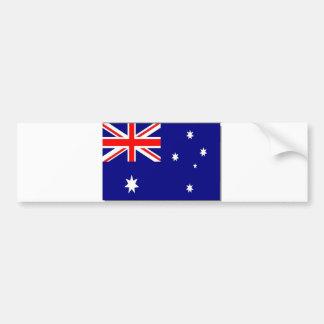 Australian Flag Bumper Stickers