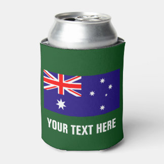 Australian flag can coolers for Australia Day