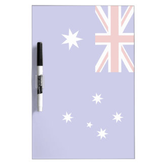 Australian flag dry erase board