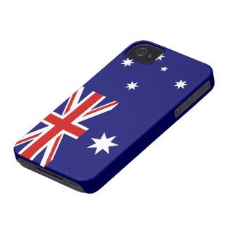 Australian Flag iPhone 4 Case-Mate Case