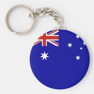 Australian flag key ring