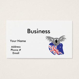 australian flag koala bear design