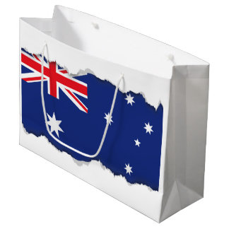 Australian Flag Large Gift Bag