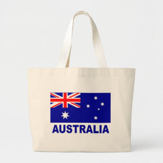 Australian Flag Large Tote Bag