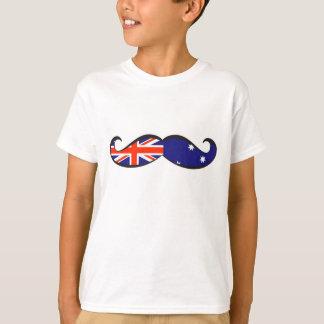 Australian Flag Mustache T-Shirt