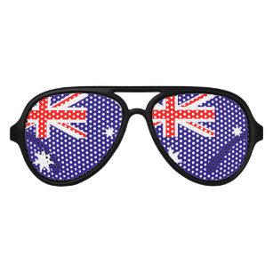 Australian flag party glasses | Australia Day fun