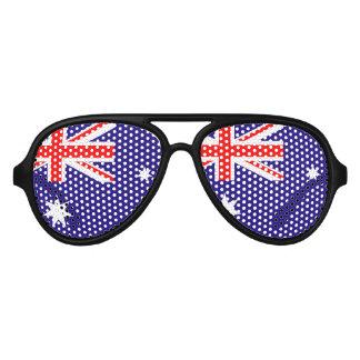 Australian flag party glasses   Australia Day fun