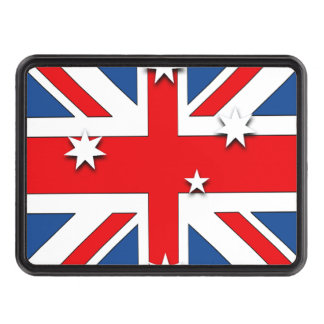 Australian Flag Tow Hitch Covers