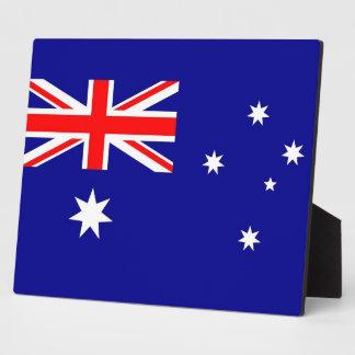 Australian Flag Plaque