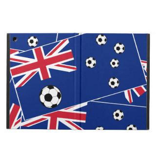 Australian Flag Soccer Balls Case For iPad Air