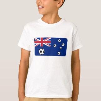 Australian Flag Soccer Balls T-Shirt