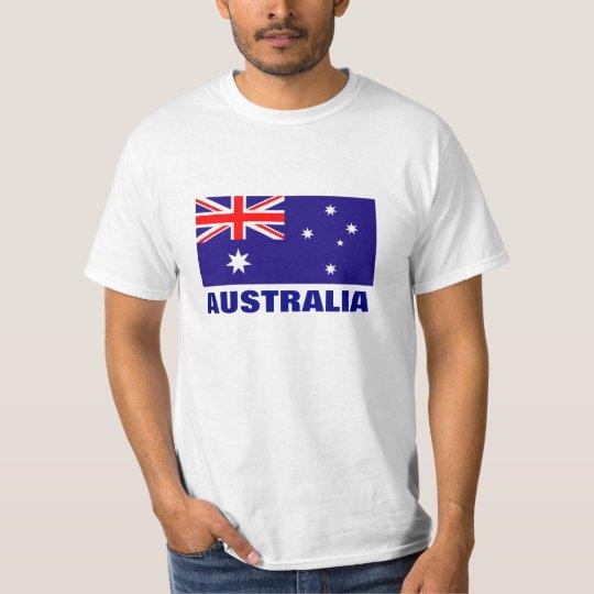 Australian flag t shirts