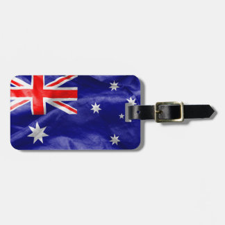 Australian Flag Tag For Bags