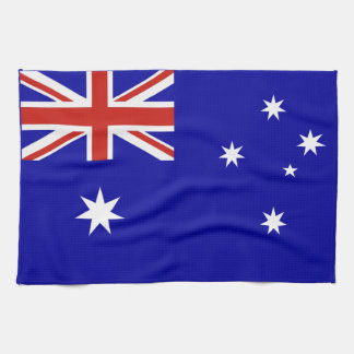 Australian flag tea towel