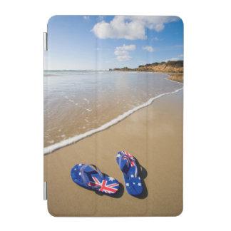 Australian Flag Thongs On Beach   South Wales iPad Mini Cover