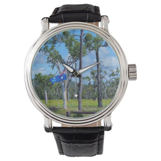 Australian flag watch