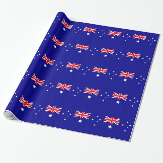 Australian flag wrapping paper