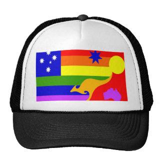 Australian Gay Pride Flag Cap