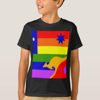Australian Gay Pride Flag T-Shirt