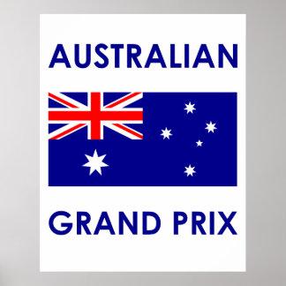 Australian Grand Prix Print