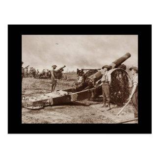 Australian Howitzers Postcard