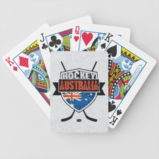 Australian Ice Hockey Flag Logo Card Deck