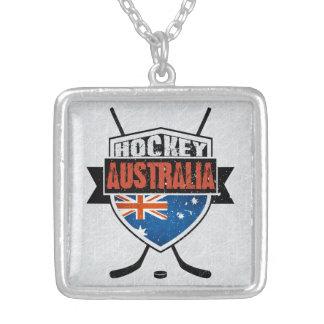Australian Ice Hockey Flag Logo Pendant