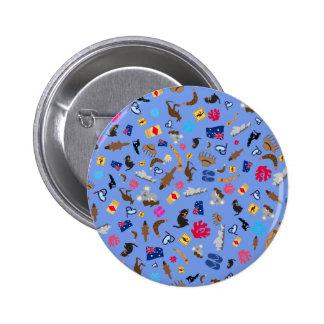 Australian items, what is Austalia famous for 6 Cm Round Badge