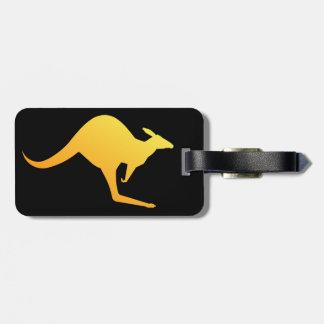 Australian kangaroo Image Luggage Tag