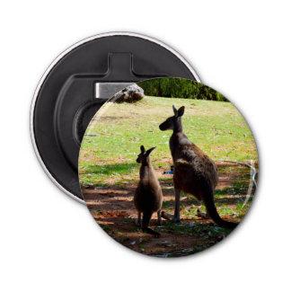 Australian Kangaroo @ Joey, Magnetic Bottle Opener